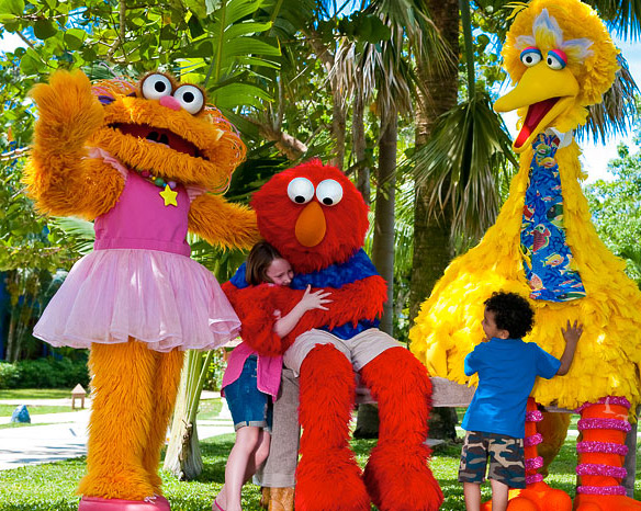 Vacation with Sesame Street